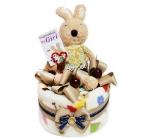 7. 娃娃屋樂園 尿布毛毯蛋糕