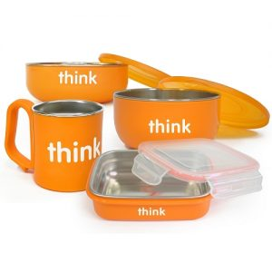 5. thinkbaby 不鏽鋼餐具組