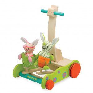 1. WonderWorld 小兔跳跳學步車