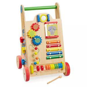 2. howa 我是小總裁木製兒童多功能學步車