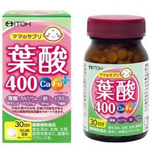 選擇含量400微克的「葉酸」或「葉酸含有酵母」的「合成葉酸」商品