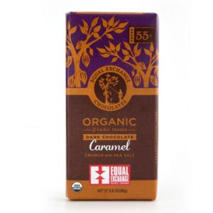 2. EQUAL EXCHANGE 有機焦糖海鹽黑巧克力 55%/80g