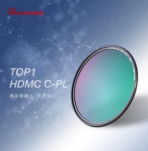 2.SUNPOWER TOP1 HDMC CPL 超薄框鈦元素環形偏光鏡/58mm