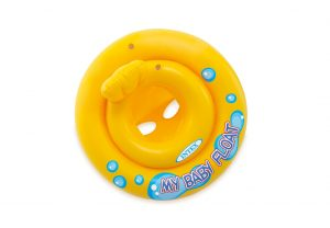 3. INTEX Baby 嬰兒專用坐式游泳圈59574