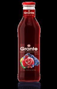 9. Grante 格朗特 100%純天然石榴蘋果葡萄混合汁/6瓶組
