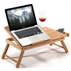 節省空間的「床上桌」
