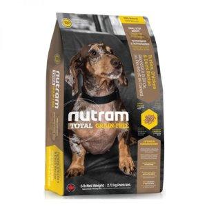 2. Nutram 紐頓 T27無穀迷你犬 火雞配方/6磅(2.72kg)