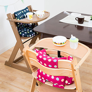 高腳餐椅:使用期間長,適用年齡為6個月~4歲