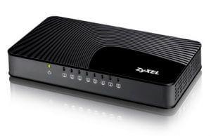 2. Zyxel合勤 8埠網路交換器 GS-108S(10/100/1000Mbps)