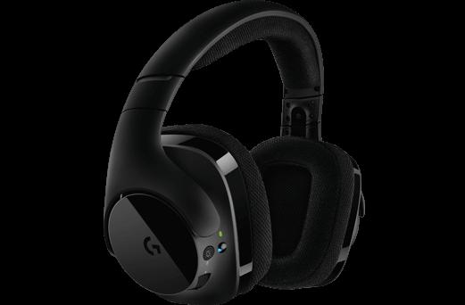 4. logitech羅技 無線耳機麥克風 G533/無線USB連接