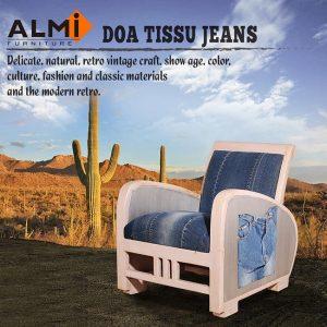 9. ALMI TISSU JEANS單人扶手椅/寬61x深67x高67cm
