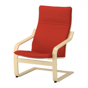 3. IKEA POÄNG 扶手椅/寬68x深94x高95cm