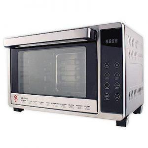 5. 晶工牌 微電腦雙溫控不銹鋼旋風烤箱 JK-8300/32L