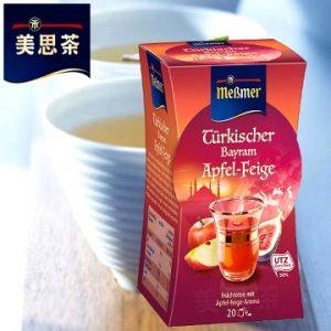 3.Messmer 美思茶 蘋香無花果茶/2.5gx20包