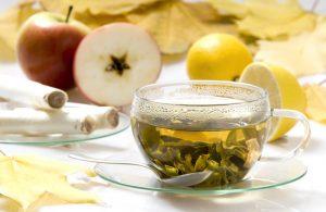 獨特的日式風味:蘋果+綠茶