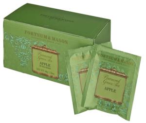 2.Fortnum & Mason 蘋果綠茶/2gx25包