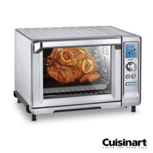 6. Cuisinart美膳雅 微電腦不鏽鋼旋風式烤箱 TOB-200TW/22L