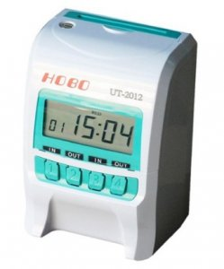6. HOBO 微電腦四欄位撞針式打卡鐘UT-2012