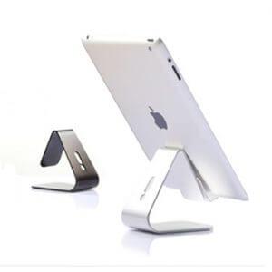 1. 無痕強力吸附式 iPad 平板手機萬用支架桌架