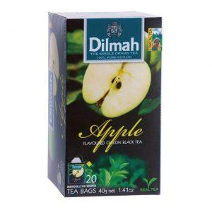 7.Dilmah 帝瑪 蘋果茶/2gx20包