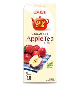 8. 日東紅茶 Daily水果茶 蘋果風味/2.2gx10包