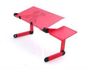 4. 索樂生活鋁合金床上折疊電腦桌