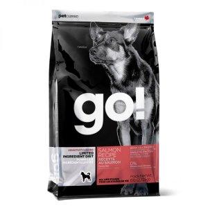 1. Go! 低致敏鮭魚無穀全犬配方/6磅(2.72kg)