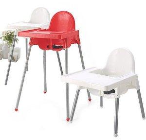 3. BabyHood 兒童二段式可調高腳餐椅/5色