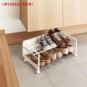 5. YAMAZAKI frame 簡約風格鞋架(附滾輪)