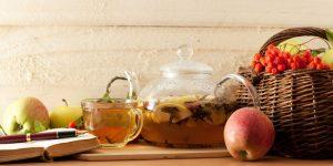 無咖啡因的低負擔選擇:蘋果+草本茶/南非國寶茶