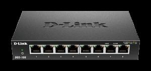 3. D-Link友訊 8埠網路交換器 DGS-108(10/100/1000Mbps)